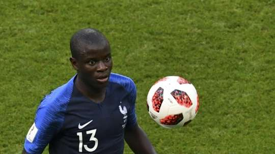 Kante was instrumental in France's World Cup triumph. AFP