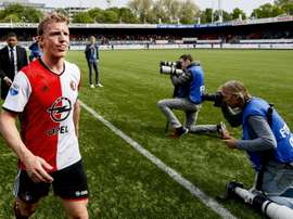 Kuyt retired from Feyenoord last year. AFP