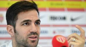 Cesc chooses between Wenger, Guardiola and Mourinho. AFP