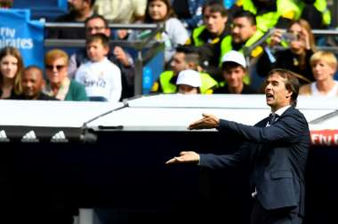 El técnico vasco se jugaría su puesto ante el Barça. AFP