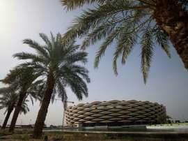 Photo du stade de Bassora, dans le sud de l'Irak. AFP