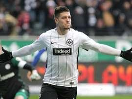 L'Eintracht de Francfort étudiera le cas de Jovic. EFE