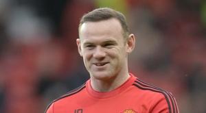 Lattaquant de Manchester United Wayne Rooney lors dun échauffement avant un match contre Southampton, le 23 janvier 2016 à Old Trafford