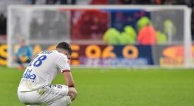 Cherki renovará con el Olympique de Lyon. AFP