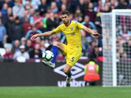 Jorginho was brought in during the summer. AFP