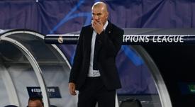 Zidane joue gros ce samedi après-midi. AFP
