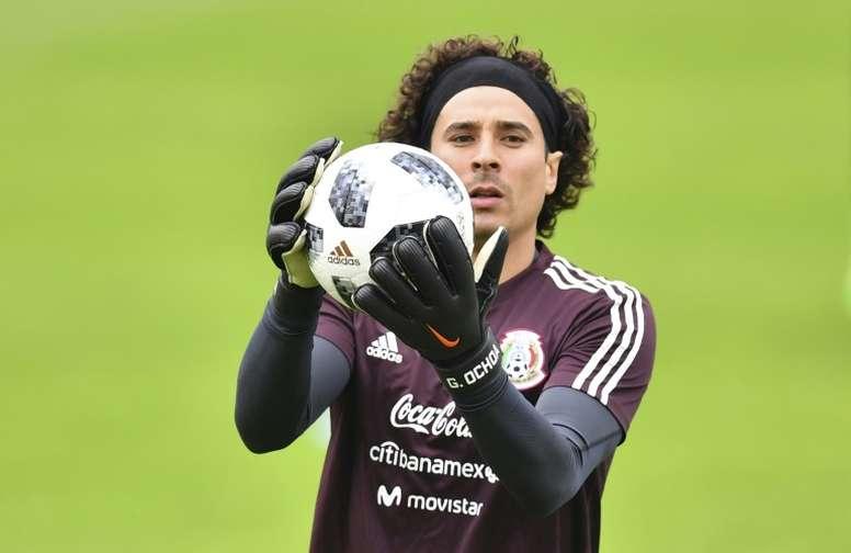 Ochoa lleva fuera de los terrenos de juego desde el 27 de septiembre. AFP