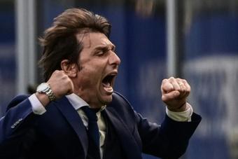 Cristiano frenaría la hipotética llegada de Conte al United. AFP