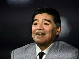 Diego Maradona, icône du football et de tous les excès. AFP
