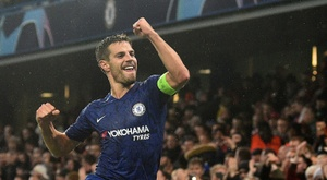 O Chelsea zoa Cristiano Ronaldo na Champions. AFP
