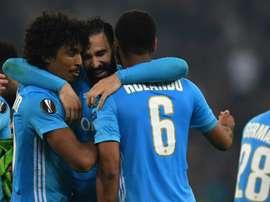 Marseille se qualifie dans la douleur. AFP