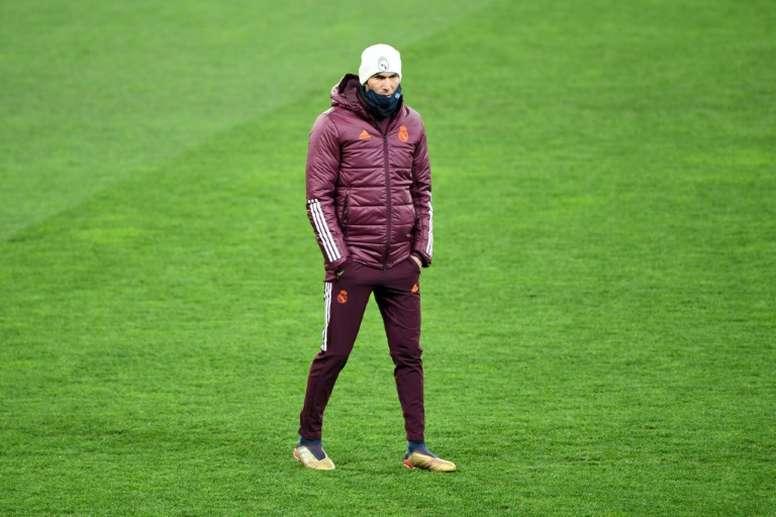 Zidane ne se sent pas 'intouchable'. AFP