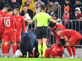 La blessure de Coman moins grave que redouté, selon le Bayern. AFP