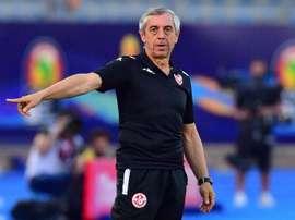 Alain Giresse n'est plus sélectionneur de la Tunisie. AFP