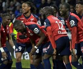 Lille parvient a prendre un point à Lyon. AFP
