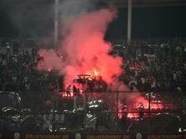 L'ambiance sera chaud à Paris en C1 contre Galatasaray. afp