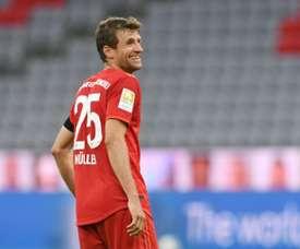 Müller prédit un Klassiker passionné malgré le huis clos. AFP