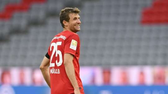 Muller is keen to face Barcelona on Friday.