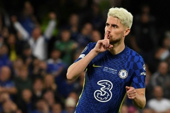 Jorginho tiene contrato con el Chelsea hasta 2023. AFP