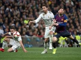 O Barça não vê com maus olhos o adiamento. AFP