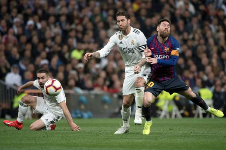 A 'Clasico' filled with uncertainty. AFP