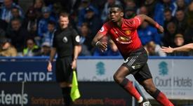 Pogba habría dado plantón al United. AFP