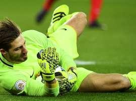 Dortmund deny Trapp interest. AFP
