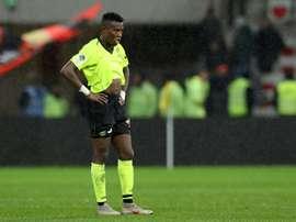 Koné connaît sa chance. AFP
