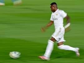 Vinicius fait de l'ombre à Eden Hazard. AFP