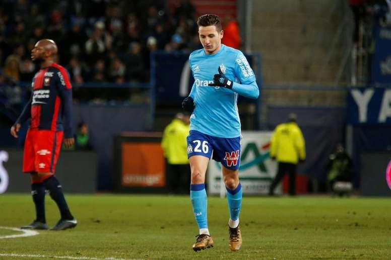 El Olympique de Marsella consiguió el pase a octavos. AFP
