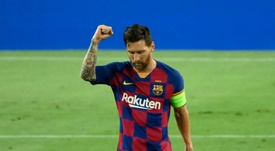 Messi donó 50 respiradores a los hospitales de Rosario. AFP