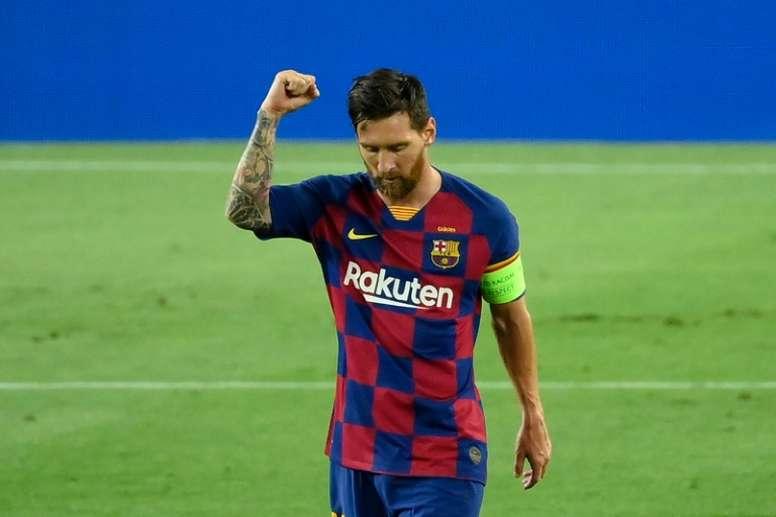 Derrière Messi, le désert du Barça ? AFP