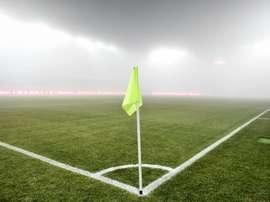 Match reporté. AFP