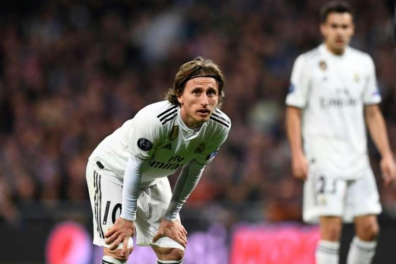 Zidane a besoin de Modric pour la saison prochaine. AFP