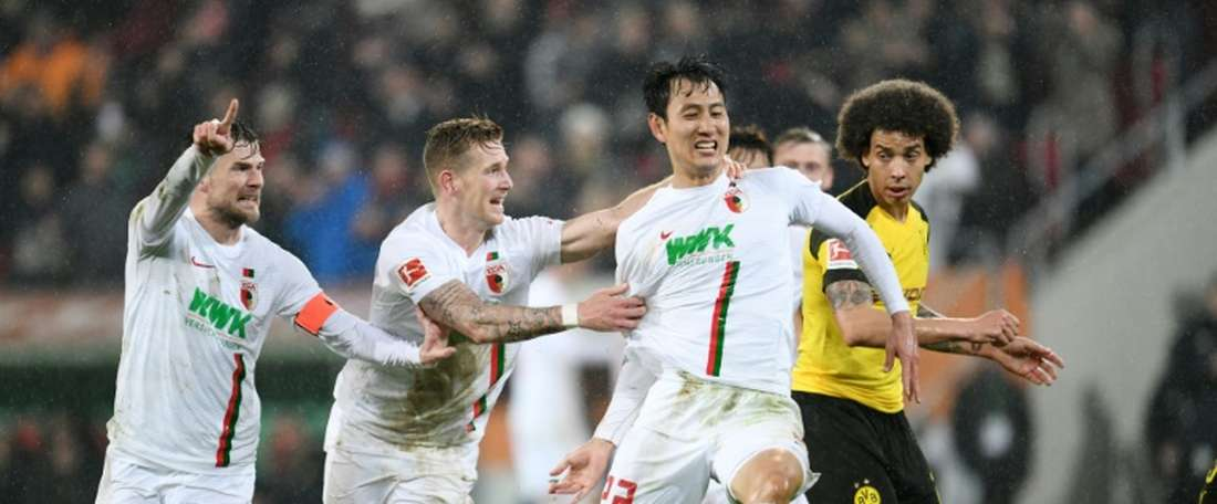 Encore une défaite pour le Borussia. AFP