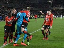 Marseille ne connaîtra pas les quarts de finale. AFP