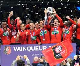 Choc Lyon-PSG en demi-finales, Rennes ira à Epinal ou Saint-Etienne. AFP