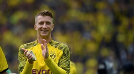 La belle initiative de Marco Reus. AFP
