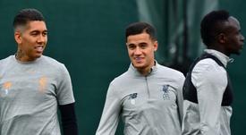 La llegada de Coutinho al Barça es inminente. AFP