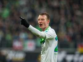 Maximilian Arnold podría abandonar el Wolfsburgo en verano. AFP/Archivo