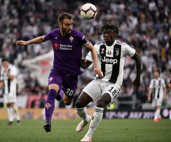 Pezzella può salutare la Fiorentina. AFP