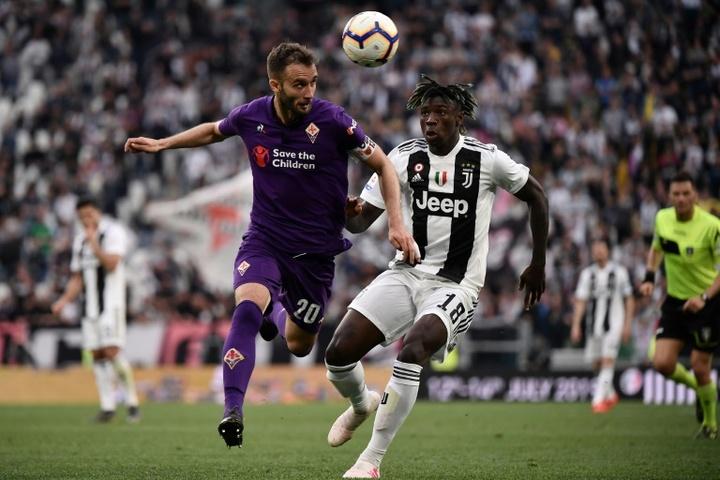 La Fiorentina est disposée à vendre Pezzella au Betis. AFP
