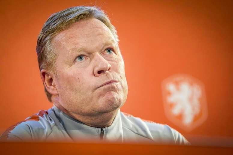Cardiaque, Ronald Koeman a frôlé 'le pire' pendant la crise du coronavirus. AFP