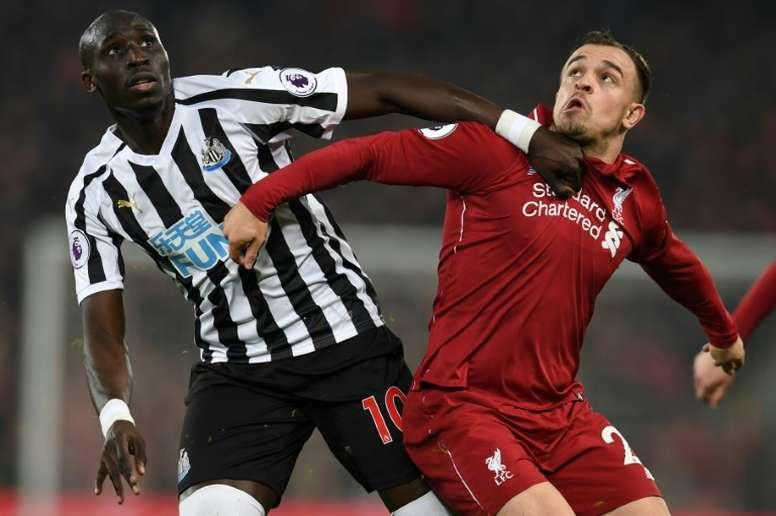 Mohamed Diamé devrait prendre la direction du Qatar. AFP