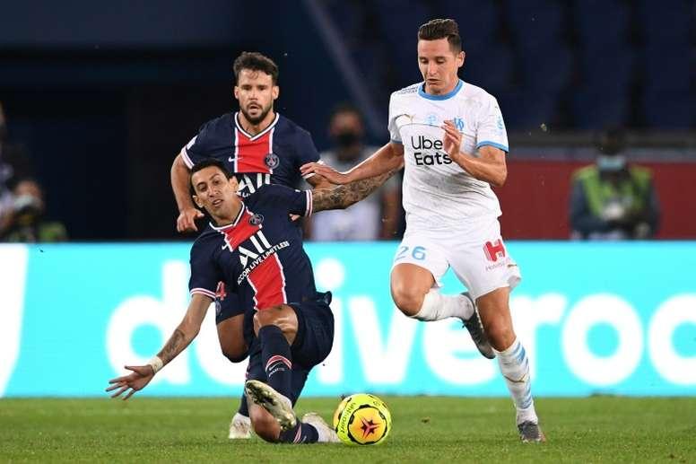 La fórmula del Milan para dejar al Sevilla sin Thauvin. AFP