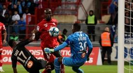El Dijon-Marsella se saldó con empate. AFP