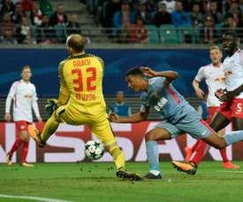 Gulácsi bénéficierait de plusieurs offres de Premier League. AFP