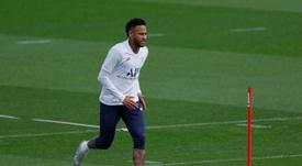 Neymar podría estar a punto para la visita al Bernabéu. AFP/Archivo
