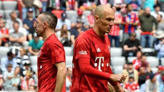 Robben-Ribéry sur le banc pour la finale. AFP