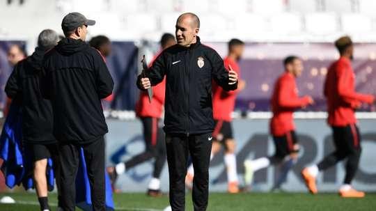 Jardim mantém o compromisso com o clube do principado. AFP